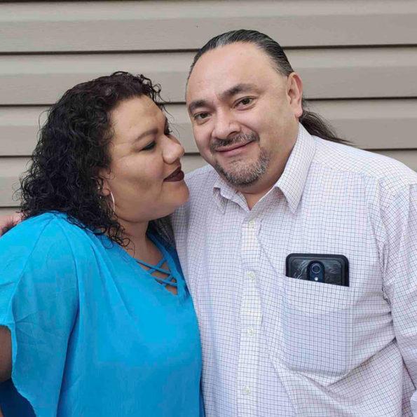 Elizabeth and Emilio Cuahquentzi (family gofundme photo)