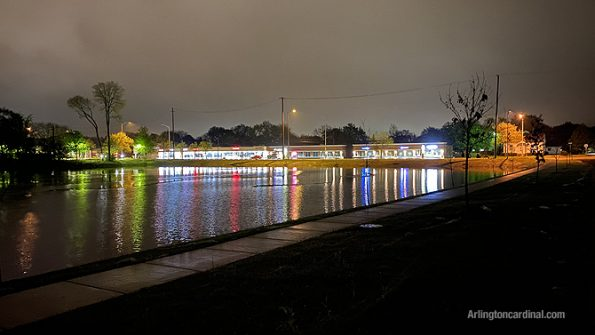 "Cypress Basin ""harbor lights"" in Arlington Heights"