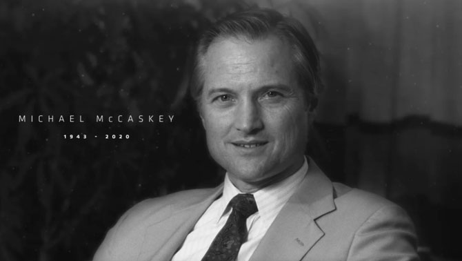 Michael B. McCaskey 1943 - 2020