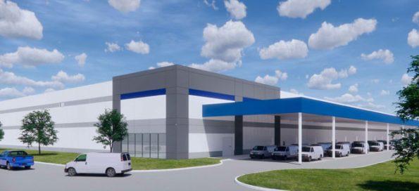 Northwest Commerce Center Amazon distribution facility