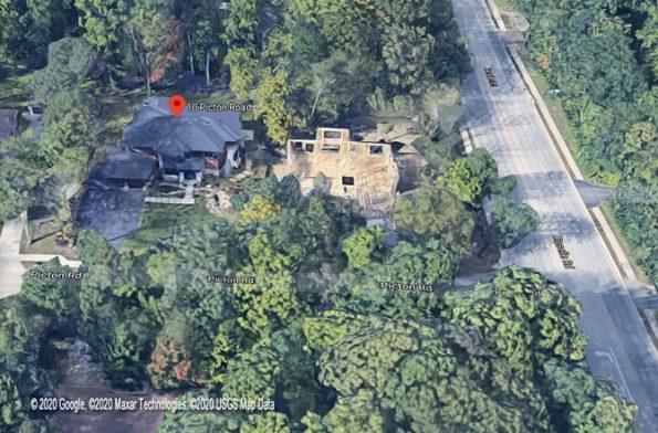 Google Satellite View of 10 Picton Road Roselle, Illinois