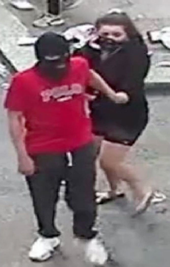 Arson Suspects at 201 North State Street in Chicago on May 30, 2020