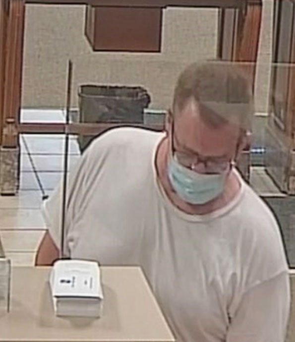 Aurora Fifth Third Bank Bank Robber security image Wednesday July 15, 2020