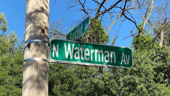 Single roll over crash into a utility pole on Euclid Avenue east of Waterman Ave., Arlington Heights.