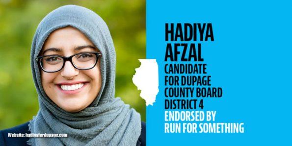Hadiya Afzal, Hadiya for Dupage website