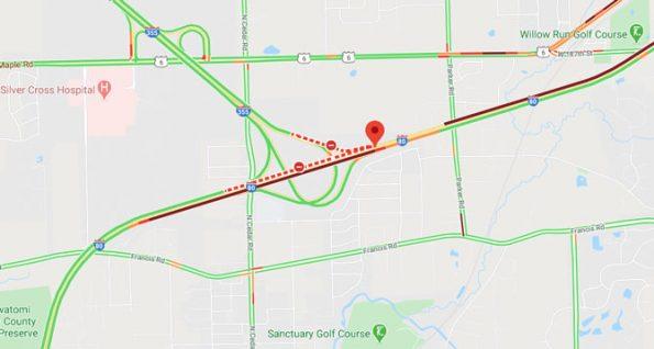 I-80 and I-355 truck crash Wednesday July 29 2020