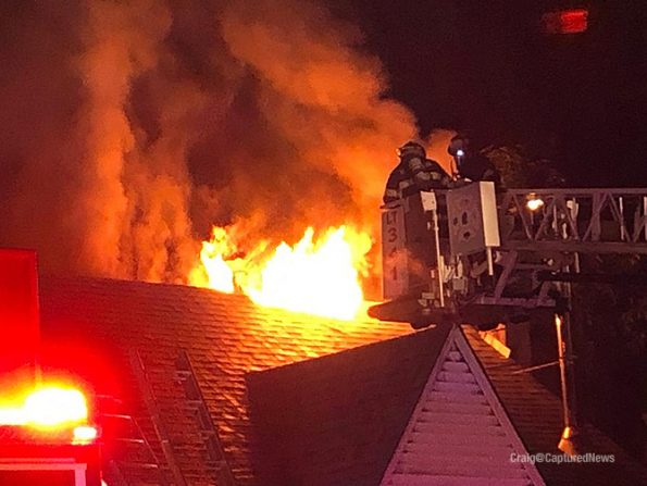 MABAS Box Alarm for house fire in Lake Zurich Sunday July 12, 2020 (SOURCE: Twitter.com/ImagesCu)