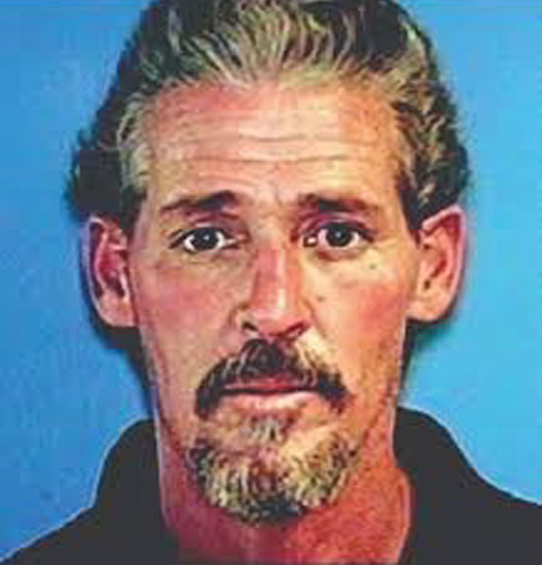 Murder suspect Samuel William Legg III in 1990