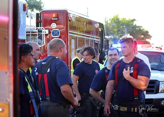 Fire extinguished at strip mall fire in Mundelein Wednesday, September 2, 2020 (SOURCE: J. Kleeman)