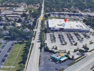 Aerial View Target Arlington Heights