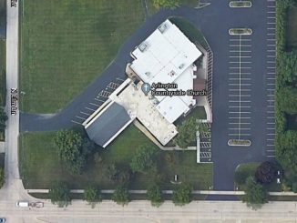 Arlington Countryside Church satellite view
