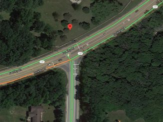 Buckley Road and St Marys car vs bicycle crash map Friday, September 11, 2020