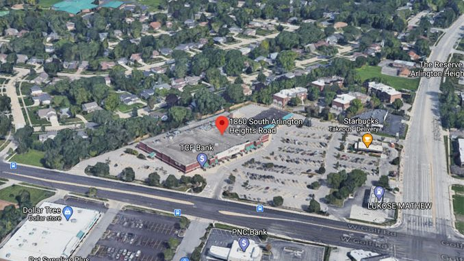 Jewel-Osco Aerial View 1860 South Arlington Heights Road Arlington Heights