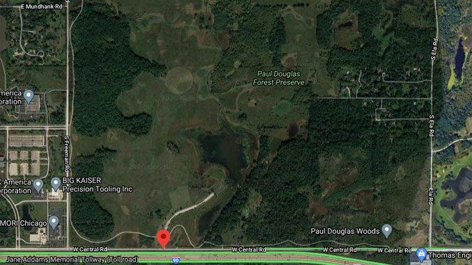 Paul Douglas Forest Preserve satellite view