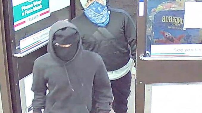 Suspect 1 and 2 Prospect Heights 7-Eleven Robbery and shooting August 31, 2020
