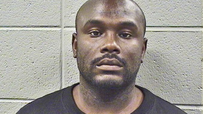 Terrance Poindexter, parolee suspect of theft of Range Rover in Rosemont