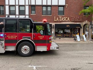 Tower 1 at LaTasca restaurant during a small fire on Friday, September 11, 2020