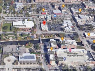 175 Jackson Avenue Naperville Aerial View (©2020 Google Maps)