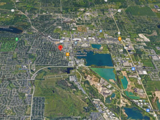 Berkshire Drive and Somerset Lane Crystal Lake Satellite View (Imagery ©2020 Google, Imagery ©2020 Landsat / Copernicus, Maxar Technologies, U.S. Geological Survey, USDA Farm Service Agency, Map data ©2020 Google)