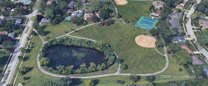 Hasbrook Park Aerial View (©2020 Google Maps)