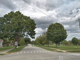 Highland Avenue and Oakton Street, Arlington Heights Street View (©Google Maps)