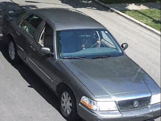 Vehicle believed to have been involved in a homicide on August 8, 2020, near Fullerton Woods Forest Preserve in River Grove, IL