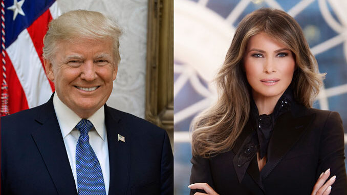 President Donald Trump and Melania Trump (PHOTO CREDIT: Shealah Craighead/Regine Mahaux)