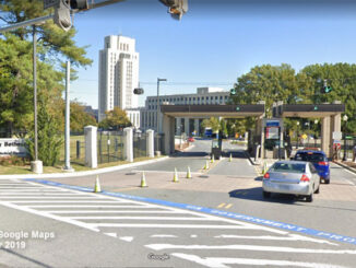Walter Reed Medical Center Street View in October 2019 (©2020 Google Maps)