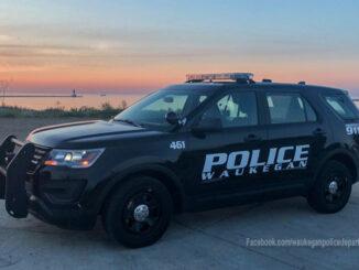 Waukegan Police SUV (SOURCE: Waukegan Police official Facebook page)
