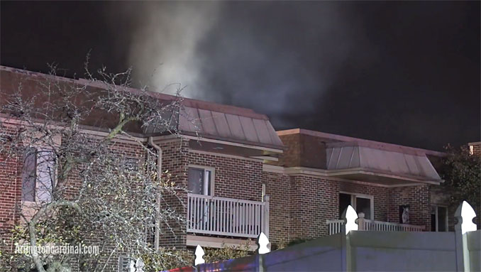 Apartment smoke on Kennicott Drive in Arlington Heights, November 4, 2020