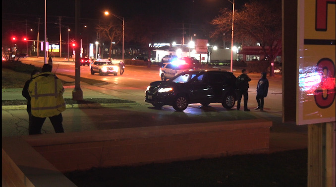 Pedestrian hit by car on Arlington Heights Road near Dundee Road in Buffalo Grove