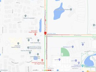 Crash Map Roselle Road and Euclid Avenue on Wednesday, November 25, 2020 (Map data ©2020 Google)