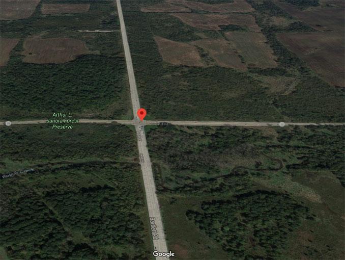 Golf Road and Bartlett Road Hoffman Estates (Imagery ©2020 Google, Imagery ©2020 Maxar Technologies, U.S. Geological Survey, USDA Farm Service Agency, Map data ©2020)