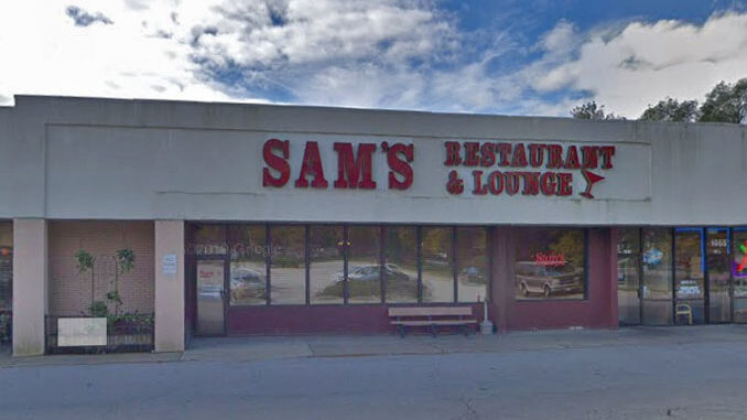 Sam's of Arlington fron entrance (Image capture Oct. 2018 ©2020 Google)