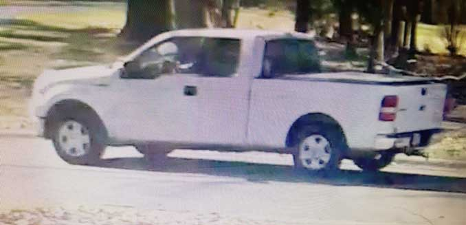 White Ford F-150 truck and driver wanted for fatal hit-and-run vehicle vs. pedestrian incident