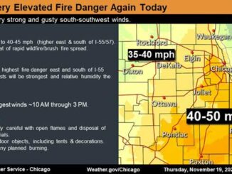Wind Advisory; Elevated Fire Danger (SOURCE: National Weather Service Chicago)