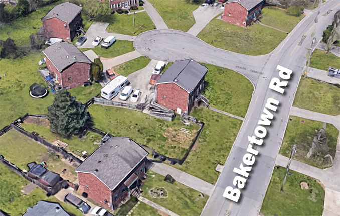 100 Bakertown Road Antioch, Tennessee showing RV parked at home in satellite view (Imagery ©2020 Google, Map data ©2020, Map data ©2020)