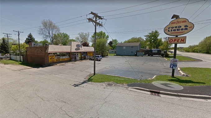 One Stop Food & Liquor at 1015 North Fairfield Road in Round Lake Beach (Image capture May 2012 ©2020 Google).