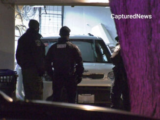 Crime Scene in garage, two shooting deaths on Wadsworth Road in Beach Park on December 8, 2020 (Craig/CapturedNews)