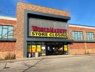 World Market store closing at Randhurst Village in Mount Prospect