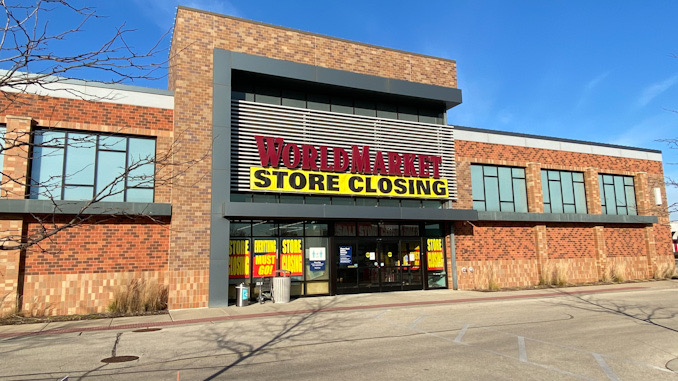 World Market store closing at Randhurst Village in Mount Prospect