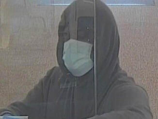 Bank robbery suspect image from Fifth Third Bank Northbrook (SOURCE: FBI Chicago)