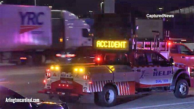 IDOT HELP Truck on I-90