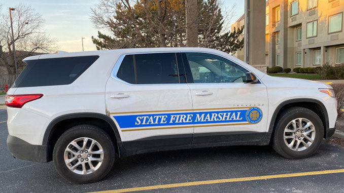 Illinois State Fire Marshal Vehicle (Cardinal News)