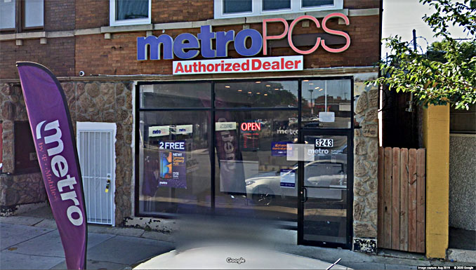 Metro by T-Mobile Store Chicago Avenue (Image capture August 2019 ©2020 Google)