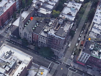 Middle Collegiate Church New York City (Imagery ©2020 Google, Imagery ©2020 Bluesky, CNES / Airbus, Maxar Technologies, Sanborn, Map data ©2020)