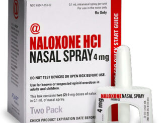Naloxone HCl Nasal Spray (SOURCE: Pennsylvania Department of Drug and Alcohol Programs, Pennsylvania Department of Health and the San Francisco Department of Health. Naloxone for opioid safety: a provider's guide to prescribing naloxone to patients who use opioids. January 2015)