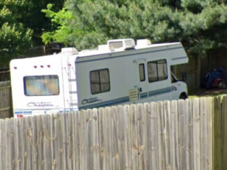 RV on Street View on Bakertown Road in Antioch, Tennessee (Image Capture: May 2019 ©2020 Google)