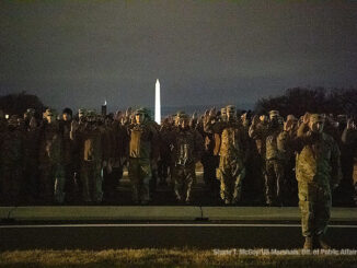 US Marshal deputation of National Guard service members on Monday, January 18, 2021 (Shane T. McCoy US Marshals Public Affairs)