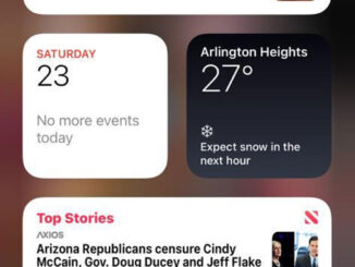 Screen capture of an errant Apple News feed showing old news with startling headlines on Saturday, January 23, 2021